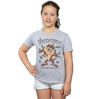 Looney Tunes Girls Vintage Tasmanian Devil T-Shirt