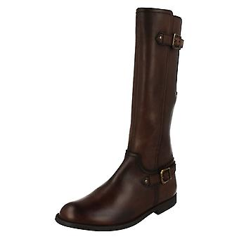 Infant/Junior Girls Startrite Long Boots Tweed