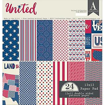 Authentique Double-Sided Cardstock Pad 12