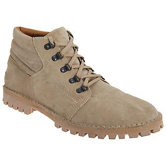 Roamers Mens Real Suede D Ring Leisure Boots