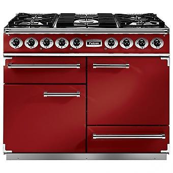 FALCON F1092DXDFRD/NM 87030 falcon 1092 de luxe df cherry red nickel