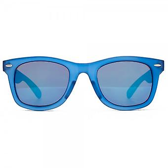 M:UK Brixton Retro Style Sunglasses In Blue