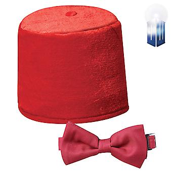 Doctor Who Fez & Bow Tie Set