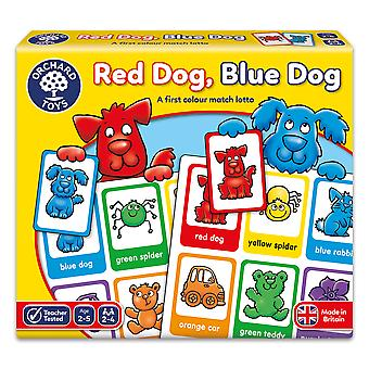 Orchard Toys Red Dog, Blue Dog