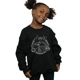 Harry Potter filles Seal Serdaigle Sweatshirt