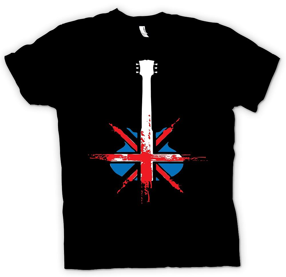 Womens T-shirt-Gibson Gitarren UK - Pop-Kunst - Musik