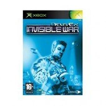 Generic Deus Ex Invisible War (Xbox Originals) - Factory Sealed