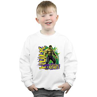 Marvel Boys Avengers Hulk Incredible Avenger Sweatshirt