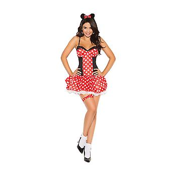Elegant Moments manquez souris Minnie Halloween Costume de Roleplay