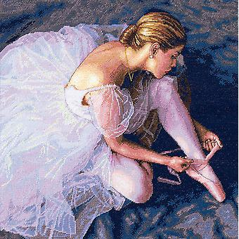 Gold Collection Ballerina Beauty Counted Cross Stitch Kit-14