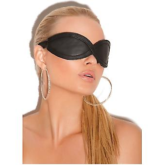 Elegant Moments EM-L9987 Leather Blindfold