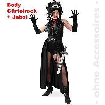 Traje de vampiro disfraz damas Dark Lady Conde Drácula oscuro Reina damas