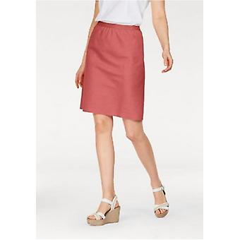 Slip rock lines-skirt with glitter Federal plus size salmon CORLEY