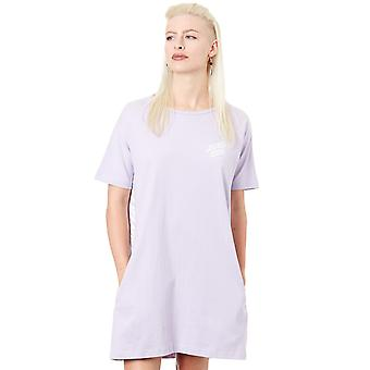 Santa Cruz Lilac Strip Panel Dress