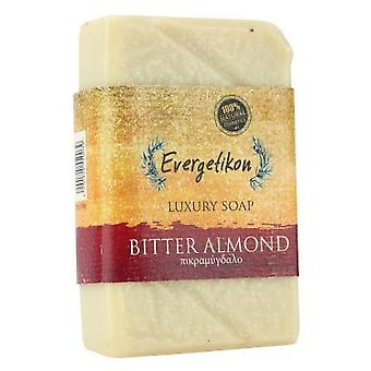 Natural, Cretan extra virgin olive oil bitter almond soap 130gr.