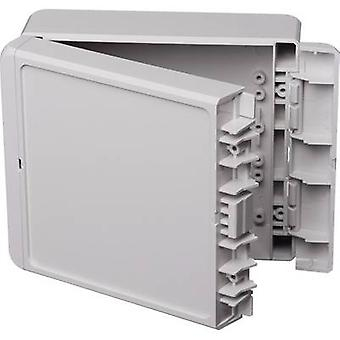 Bopla Bocube B 141306 ABS-7035 Wall-mount enclosure, Build-in casing 125 x 151 x 60 Acrylonitrile butadiene styrene Light grey (RAL 7035) 1 pc(s)