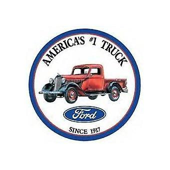 Camión Ford ronda muestra del Metal