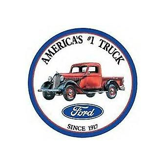 Ford lastbil runde Metal tegn
