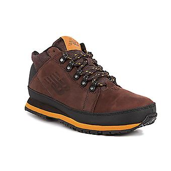 New balance real leather trekking shoes Brown 754