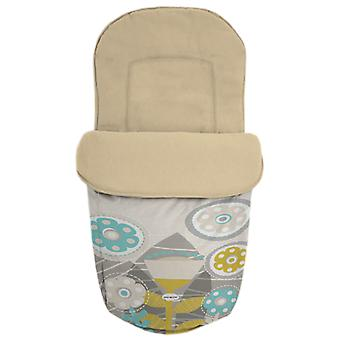 Baby Star Saco para silla universal impermeable Flores