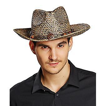 Paja sombrero de vaquero