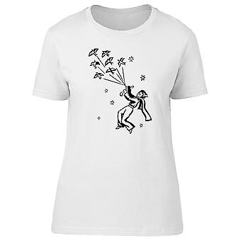 The Little Prince With Birds Tee Women's -Image by Shutterstock