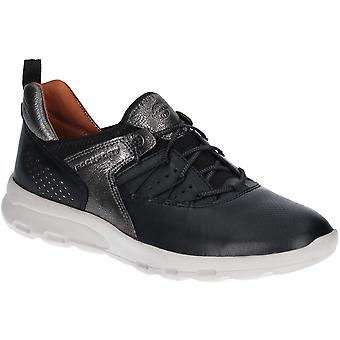 Rockport Womens Lets Walk Flexible Leather Bungee Trainers