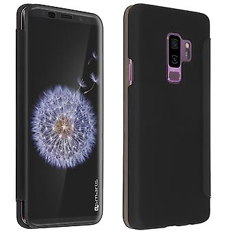 4Smarts interactive kyoto flip case for Samsung Galaxy S9 Plus - Black
