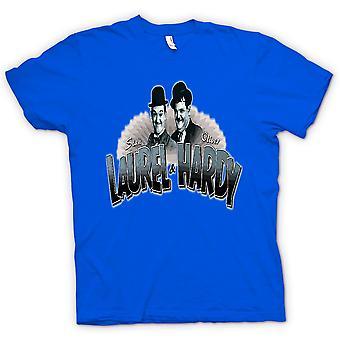 لون القميص النسائي-لوريل وهاردي-