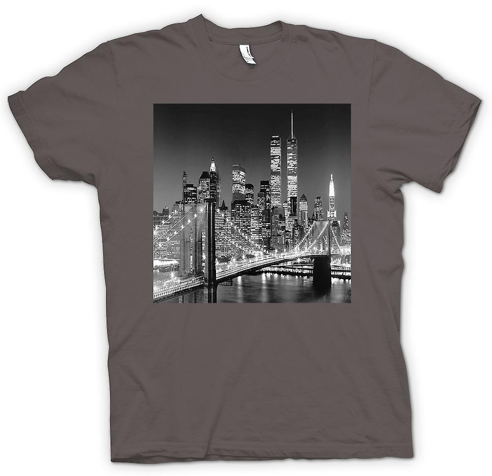 Femmes T-shirt New York - Sky Line - Twin Towers
