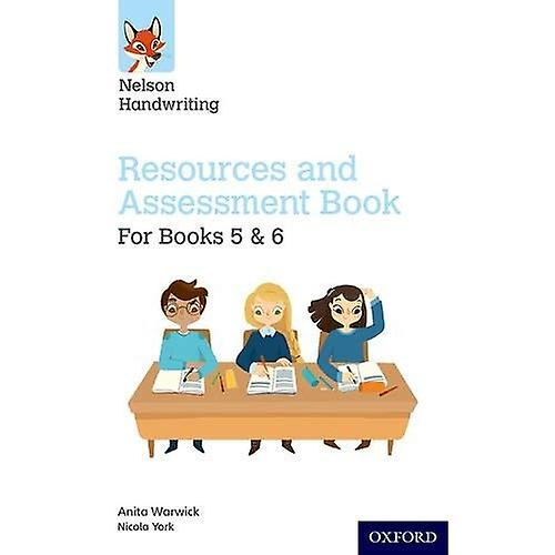 Nelson Handwriting  Year 5-6 Primary 6-7  Resources and Assessment Book for Books 5 and 6