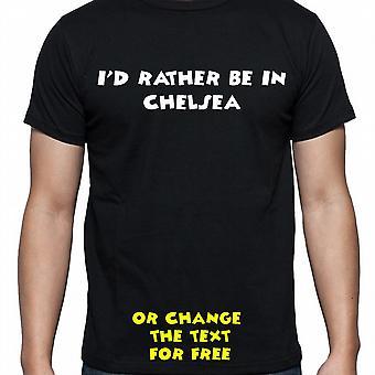 Я имел довольно быть в Челси Чёрная рука печатных рубашку T