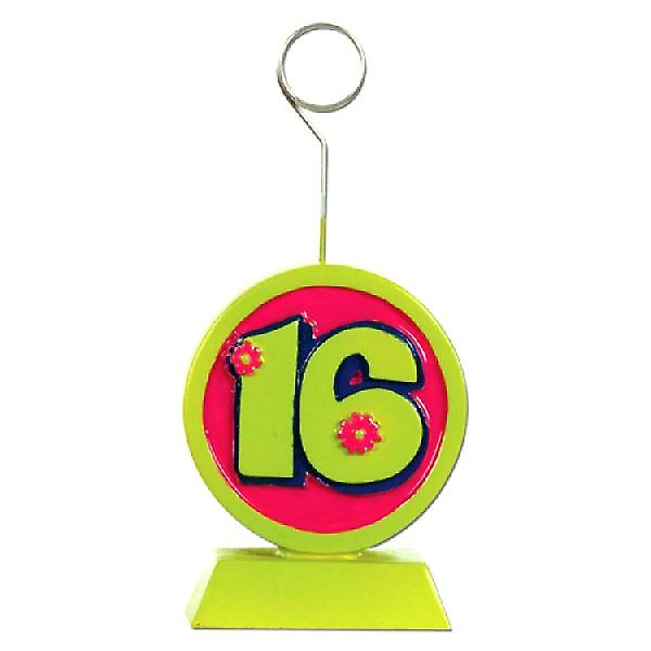 Balloon/Photo Holder Sweet 16