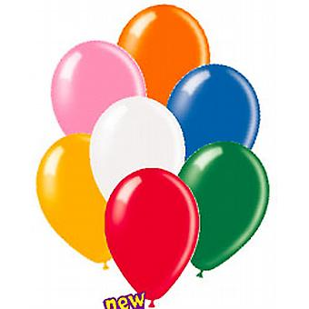 "Balloons Standard 12"" Assorted Colours"