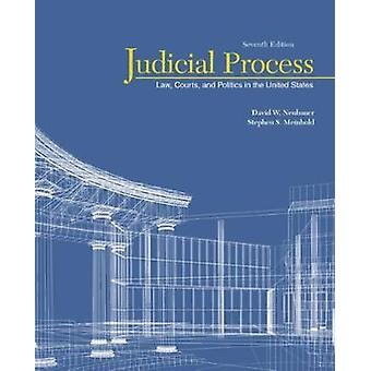 Judicial Process  Law Courts and Politics in the United States by Stephen Scott Meinhold & David W Neubauer