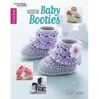 Leisure Arts-Modern Baby Booties
