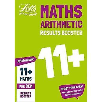 11 + aritmetiska resultat Booster för CEM test: riktade övningsarbetsboken (Letts 11 + framgång) (Letts 11 + framgång)