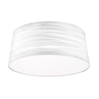 Belmont White Cotton Shade - Leds-C4 PAN-226-14