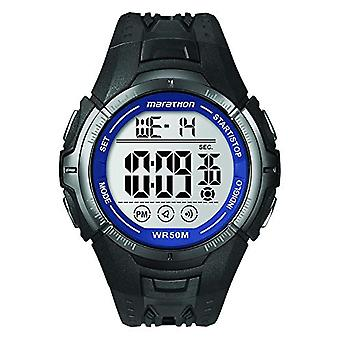 Timex Digital Watch T5K359 wristwatch, plastic, Black