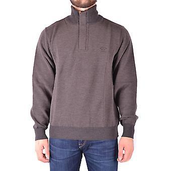 Paul & Shark Brown Wool Sweater