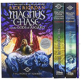 Magnus Chase and the Gods of Asgard Paperback Boxed Set (Magnus Chase and the Gods of Asgard)