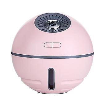 Kompakt luftfugter med ventilator og lampe-Pink