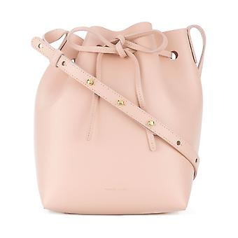Mansur Gavriel Pink Leather Shoulder Bag