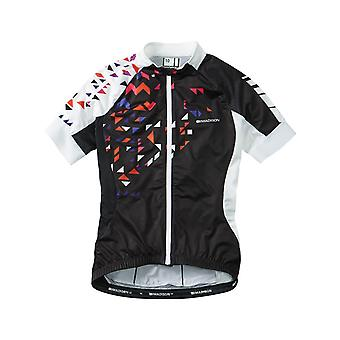 Madison Black-White 2016 Sportive Womens Short Sleeved Cycling Jersey