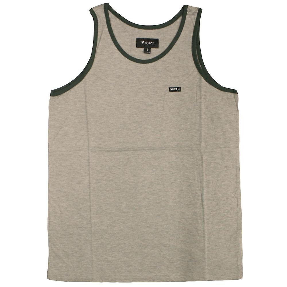 Brixton Sherman II Tank Top Grey Hunter