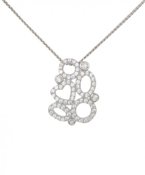 Cavendish French Heart and Loops Pendant