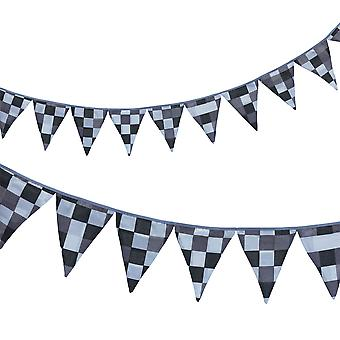 Ready Steady Bed® Children's Pixels Grey Design Polycotton Bunting