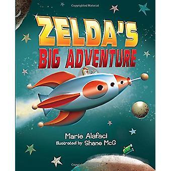 Zelda's Big Adventure by Marie Alafaci - 9781328660817 Book