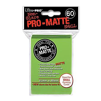 Ultra Pro Pro Matte Small Card Sleeves - Green
