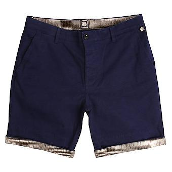 Pretty Green City shorts avec Turn Up